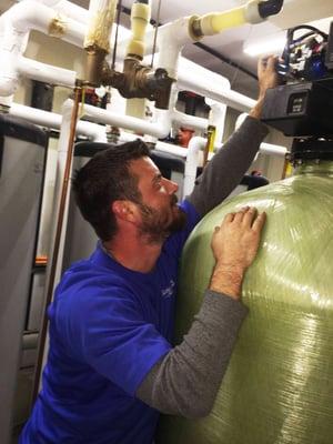 common water softener repairs