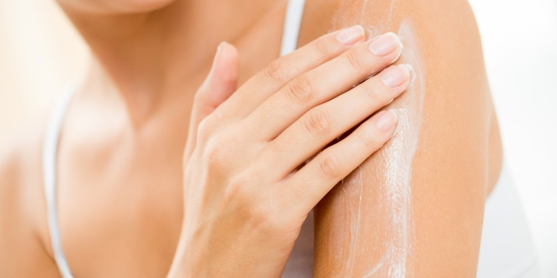 hard water affects skin